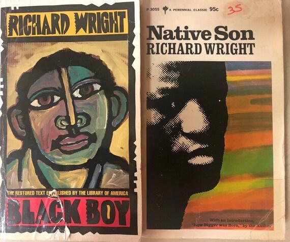 Richard Wright Native Son, schwarzer Junge Bücher Bibliothek von Amerika mehrjährige Classic
