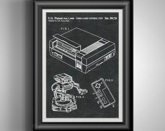 80s Retro INSPIRED WALL ART Print Poster A4 A3 1980s retro SNES rubiks cube