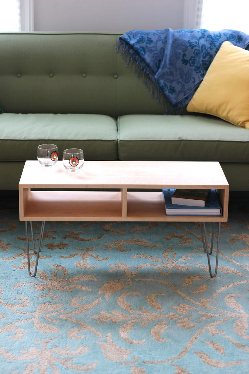 Hairpin Coffee Table Etsy