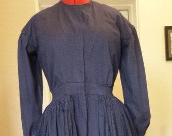Civil War Camp Work Dress