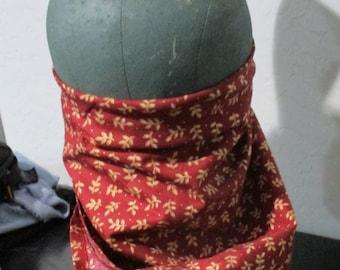 Gentlemen Civil War Reproduction Bandanna for Virus Protection Soldiers or Ladies