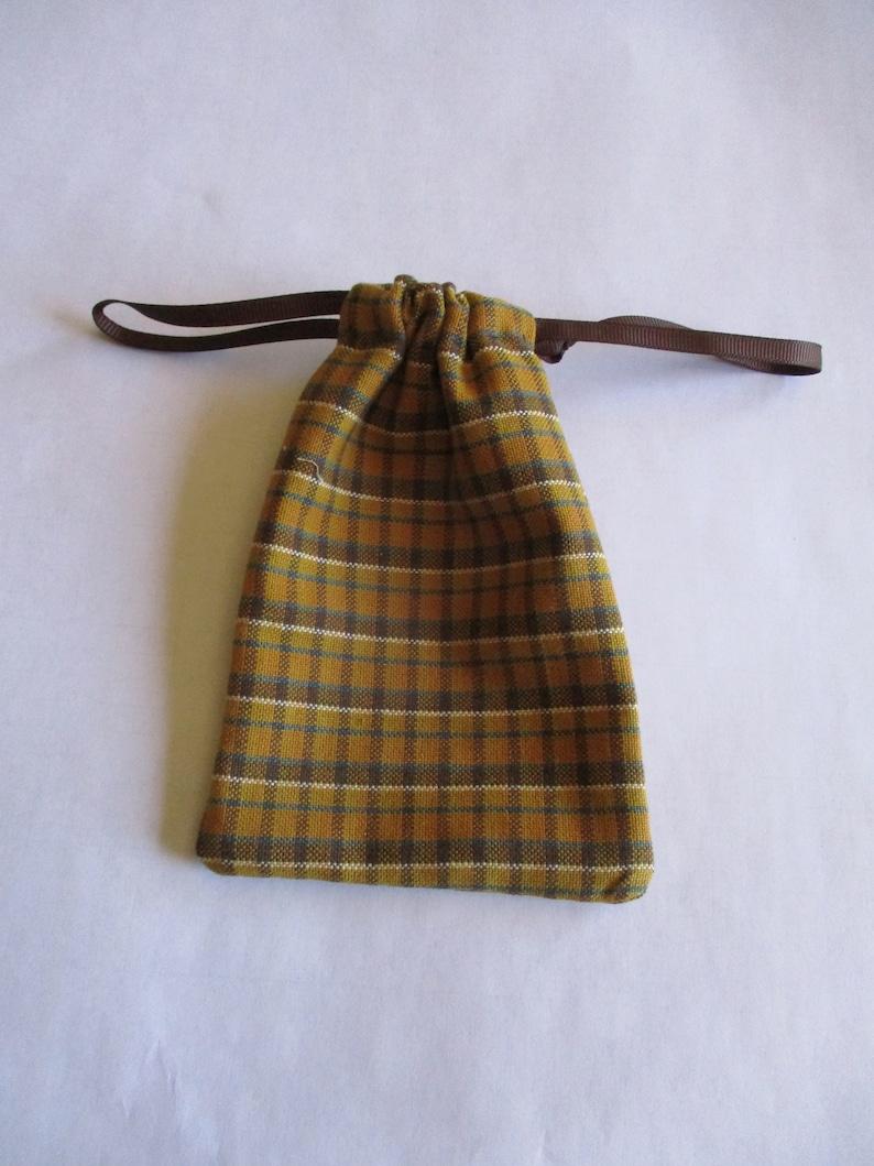 Civil War Reenactor\u2019s Small Tote Bag Hand Sewn