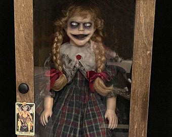 Alice the Haunted Doll Porcelain horror doll