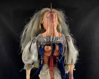 Victim of Vlad the porcelain horror doll