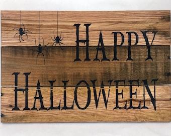 Happy Halloween Decor Sign