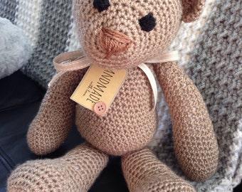 Rustic Brown Bear