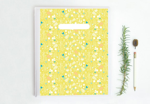 printable binder cover insert blank labels summer flowers etsy