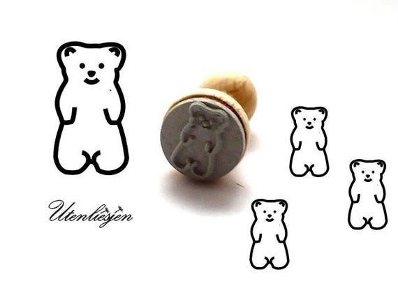 Gummy bear stamp