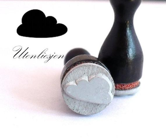 Timbre de nuage, mini, Ø 12 mm, minis tampons