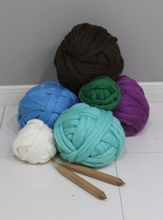 grosse laine pour tricoter des couvertures trapues capots etsy. Black Bedroom Furniture Sets. Home Design Ideas