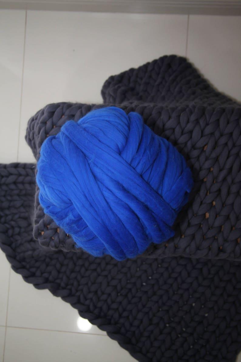 Chunky Wool Yarn for Knitting Chunky Blankets Scarfs and Pillows Wool Yarn Merino Giant Yarn Knitting Thick Yarn Bulky Arm Knitting Cowls