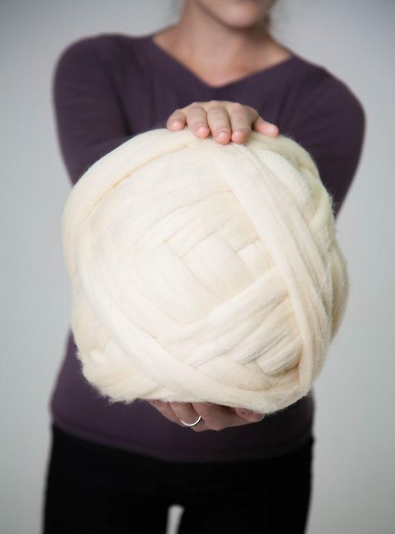 23 micras brazo tejer lana hilado Super voluminosos hilado | Etsy