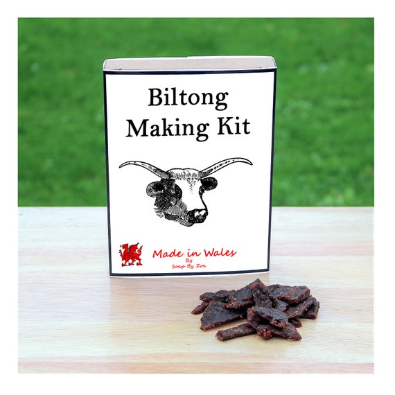 Beef Biltong Making Kit - Make Your Own Biltong at Home - Unusual Gift for Men, Women, Him or Her