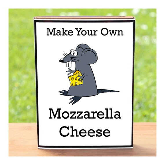 Make Your Own Mozzarella Cheese - Beginner Friendly Homemade Cheese Making Kit - Unusual, Unique and Quirky Gift for Men or Women