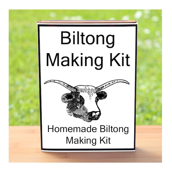 Make Your Own Beef Biltong - Beginner Friendly Homemade Traditional Biltong Making Kit - Unusual, Unique and Quirky Gift for Men or Women