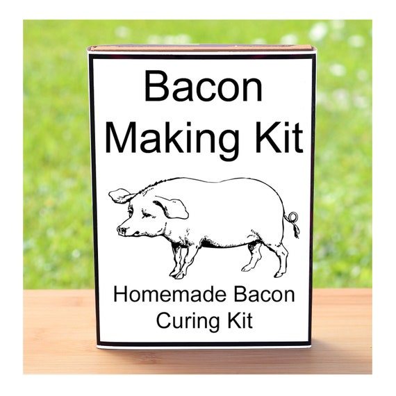 Gift For Man Or Woman Who Have Everything - Bacon Making Kit - Home Cured Fresh Bacon