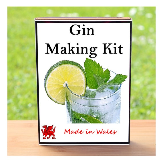 Gin Lover Gift - Gin Making Kit - Make Your Own Botanical Gin