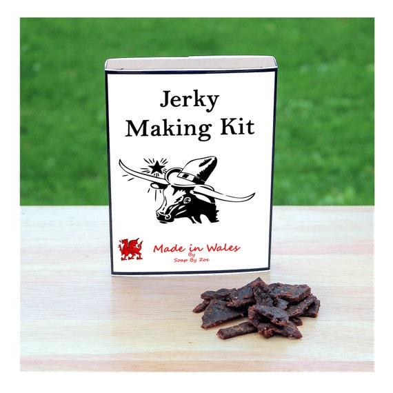 Beef Jerky Making Kit - Make Your Own Beef Jerky at Home - Unusual Gift for Men, Women, Him or Her