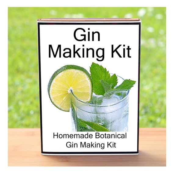 Gift For Man Or Woman Who Have Everything - Gin Making Kit - Make Your Own Gin at Home