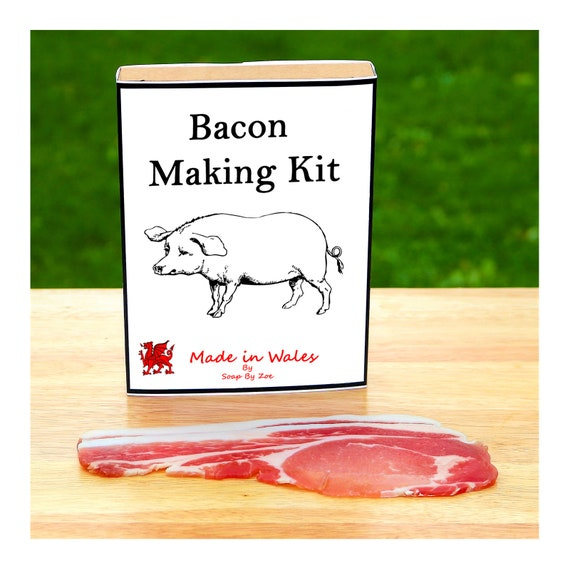 Bacon Making Kit - Make Your Own Cured Bacon at Home - Unusual Gift for Men, Women, Him or Her