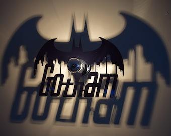 Apply with a shade worn Gotham Batman wings