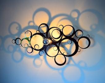 Luminaire applies Bubbles