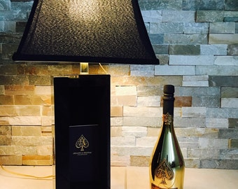 Empty Bottle Ace OF Spades 750ml Armand de Brignac Champagne   Etsy