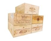 French Wine Crates, Wood Crates, Rustic Wedding Decor, Gift Card Box, Wine Bar Home Decor, Gift Box, Storage Crates, Garden Box.