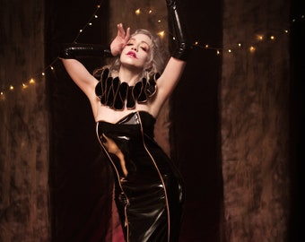 PVC Circus Gown