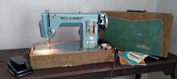 Morse SuperDial Portable Sewing Machine With Etsy Mesmerizing Original Sewing Machine