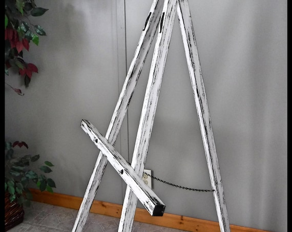 Floor Easel/Large Floor Easel/Rustic Wood Easel/Wedding Sign Easel/Reception And Party Sign Easel/Wooden Easel/Large Easel For Wood Signs