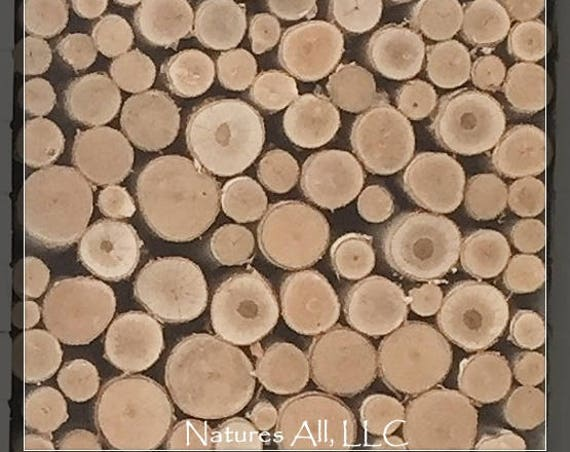 Empty Fireplace Decor/Fill A Space/Decorative White Birch Logs-Kiln Dried/Farmhouse Decor/Rustic Home Decor!!