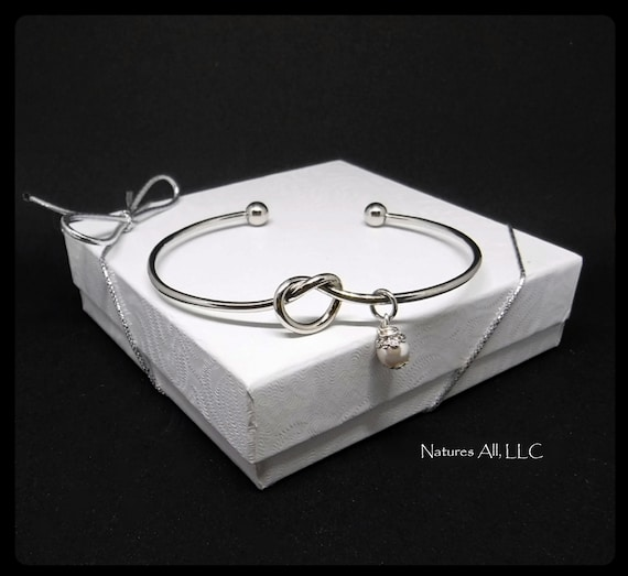 Tie The Knot Bracelet/Bridesmaid Proposal/Bridesmaid Gift/Gift For Maid Of Honor/Bulk Pricing