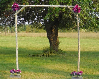 Rustic DIY Aspen Wedding Arch Poles/ Aspen Poles Only/No Stands, Bases Or Ground Rods/Country DIY Aspen Wedding Arch Poles