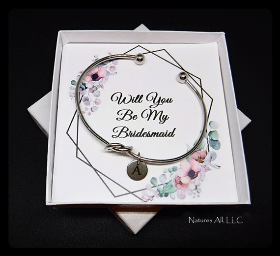 Tie The Knot Bracelet/Bridesmaid Gift/Bridesmaid Proposal/Gift For Matron Of Honor