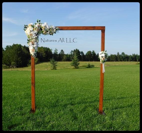 Wedding Arch/Wedding Arbor/Rustic Wedding Arch/Complete