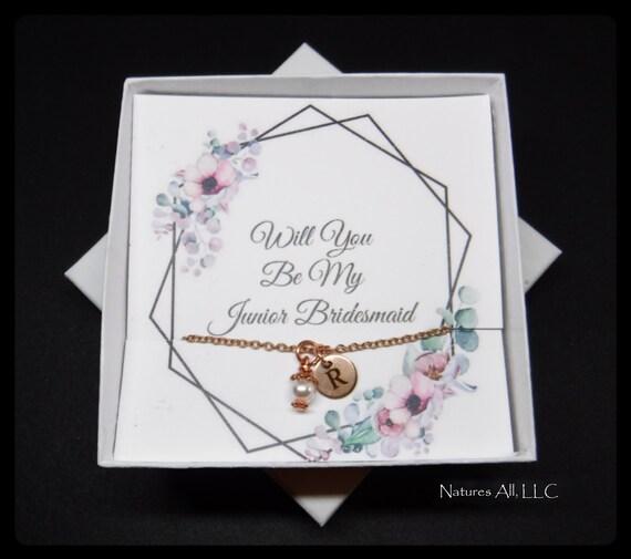 Personalized Junior Bridesmaid Gift/Junior Bridesmaid Proposal/Will You Be My Junior Bridesmaid Gift/Gift For Junior Bridesmaid