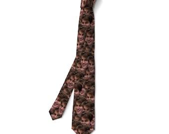 Custom Face Neck Ties -Custom Photo Ties, Custom Ties, Personalized Ties, Custom Printed Ties, Picture Ties, Photo Gift, Custom Photo Ties