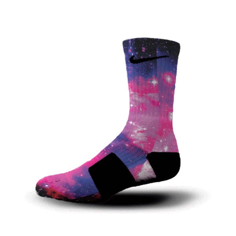 5d5ec4528104 Custom Nike Elite Socks KD LeBron Kobe All Sizes HoopSwagg