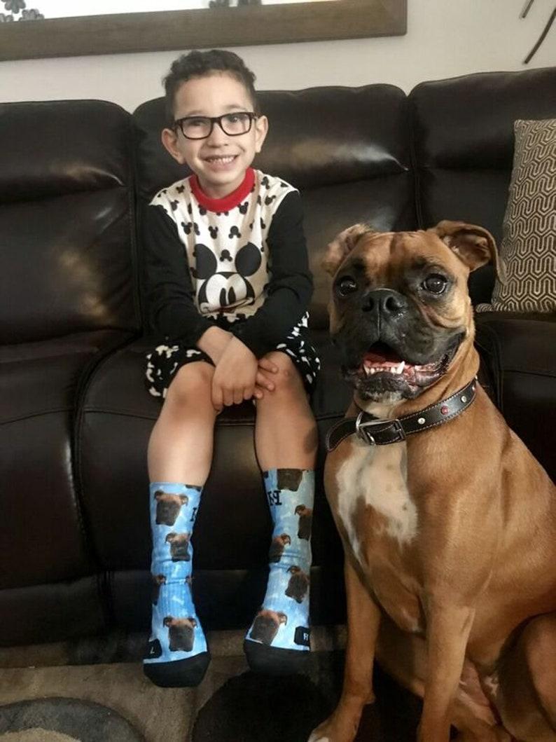 Customized Dog Socks Put Your Cute Dog on Custom Socks Dog image 5