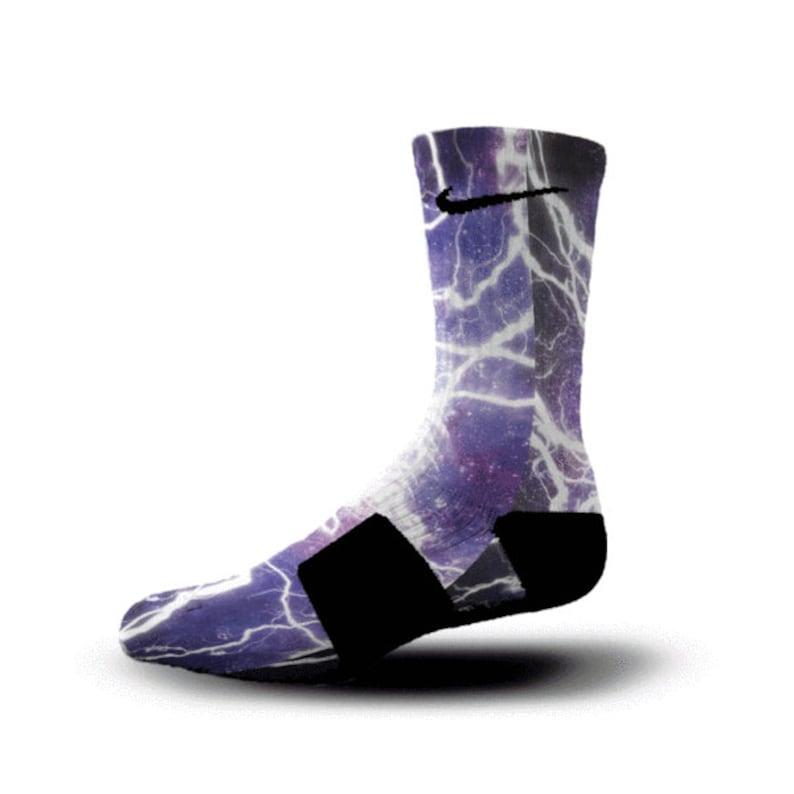 Custom Nike Elite Socks KD LeBron Kobe All Sizes HoopSwagg  77091d20d
