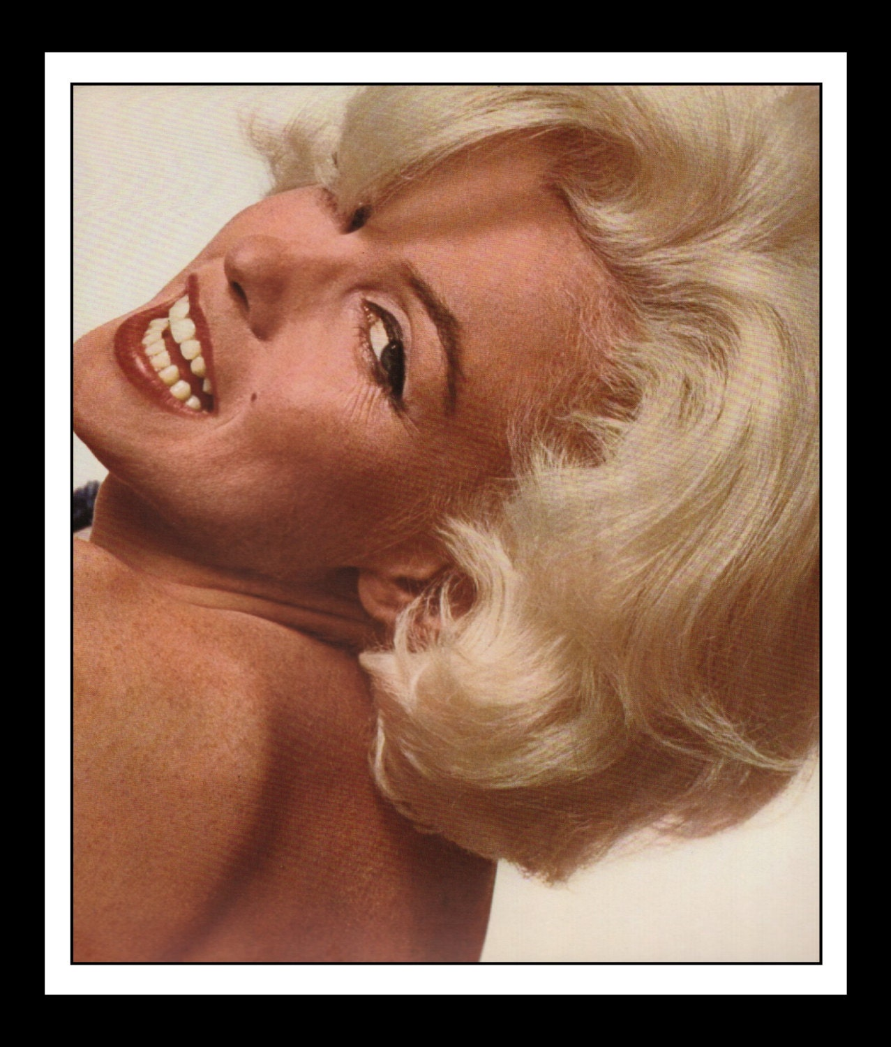 Mature Vintage Pinup Marilyn Monroe Nude Sexy Pinup Wall -7179