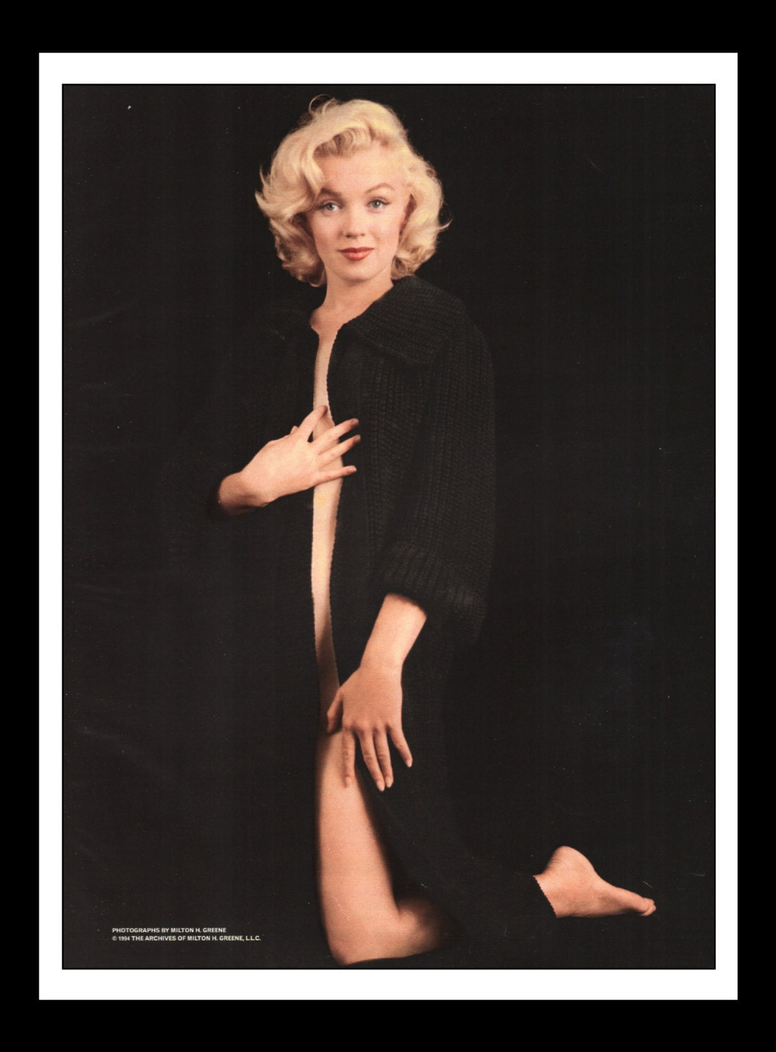 Playboy Vintage Pinup January 1997 Marilyn Monroe Sexy -8753