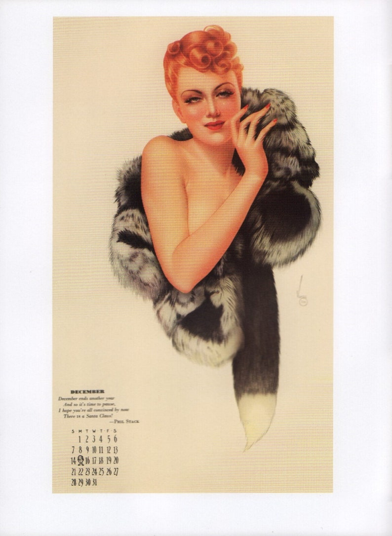 "Alberto Vargas Vintage Pin Up 11 x 14/""  Photo Print"