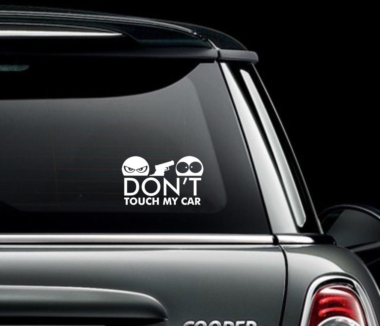 Decals, Stickers & Vinyl Art Home Décor Don't Touch My Car Funuy Sticker Vinyl Decal for Auto Car Bumper Vehicle Window