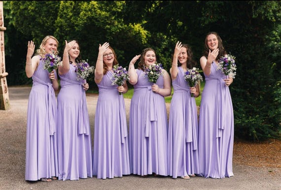0a2356e3bf Bridesmaid dress Wedding dress Infinity dress Convertible