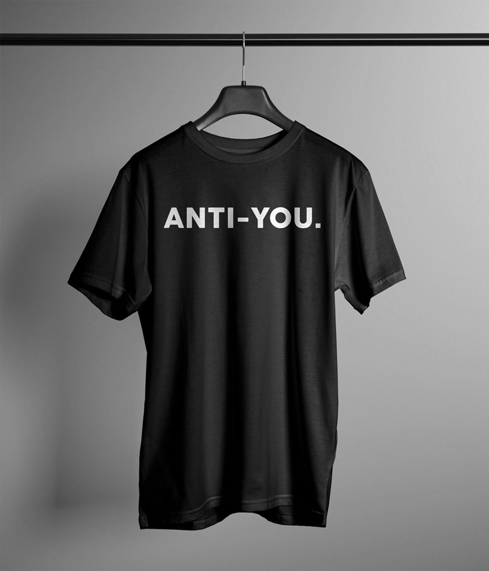 Anti-T-Shirt Antisocial Humour drôle rebelle Antisocial Anti-T-Shirt Hipster vous hommes 8f0e27