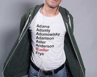 Ferris Bueller Register Movie Unisex T-Shirt