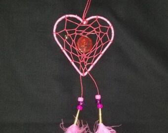 Valentine's Heart Dreamcatcher