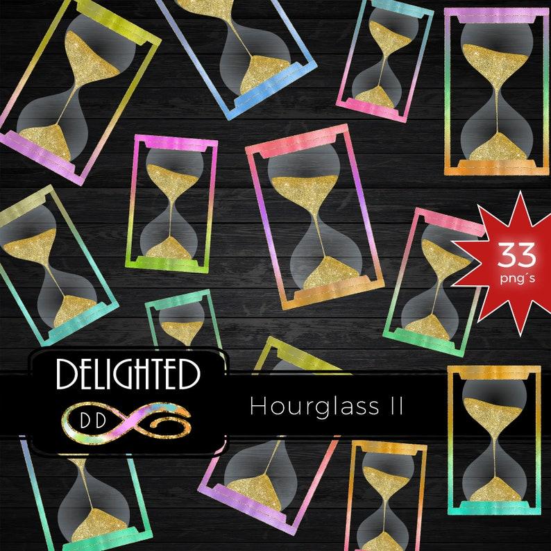 BUY10GET50/%OFF Hourglass Clipart